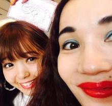 【エンタがビタミン♪】平野ノラ&藤田ニコル 仲良し2ショットに「似てる、姉妹みたい」の声