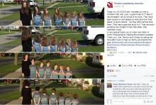 【海外発!Breaking News】6人の息子と母親、伸ばし続けた5.2mの髪を寄付(米)<動画あり>