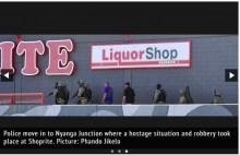 【海外発!Breaking News】開店前のスーパーで立てこもり事件 銃撃戦で警備員が死亡(南ア)