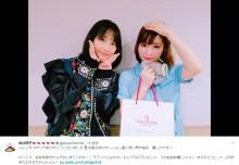 【エンタがビタミン♪】松井玲奈 『ジレッタ』公演の中川翔子を素敵なプレゼントで激励