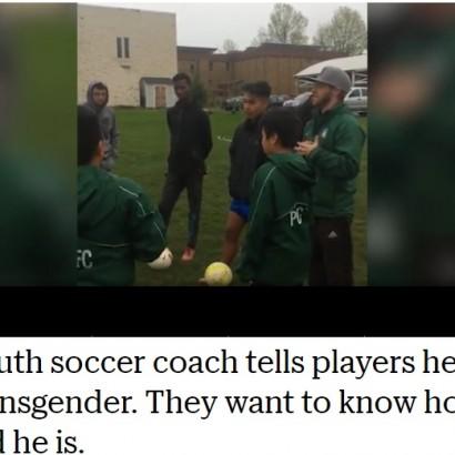 【海外発!Breaking News】「隠してたけど僕は本当は…」少年サッカーチームにコーチが仰天激白(米)