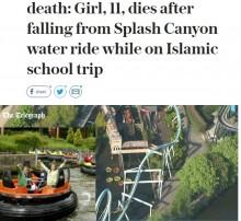 【海外発!Breaking News】11歳少女がスプラッシュ系アトラクションから転落死 英・人気遊園地で