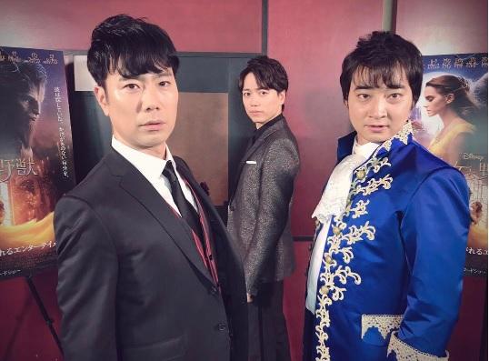 3人で「ホットホットボーイズ」結成?(出典:https://www.instagram.com/ikusaburo_yamazaki_official)