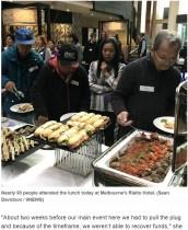【海外発!Breaking News】5つ星ホテルでの朝食会をキャンセルした会社、ホームレスらに食事を提供(豪)
