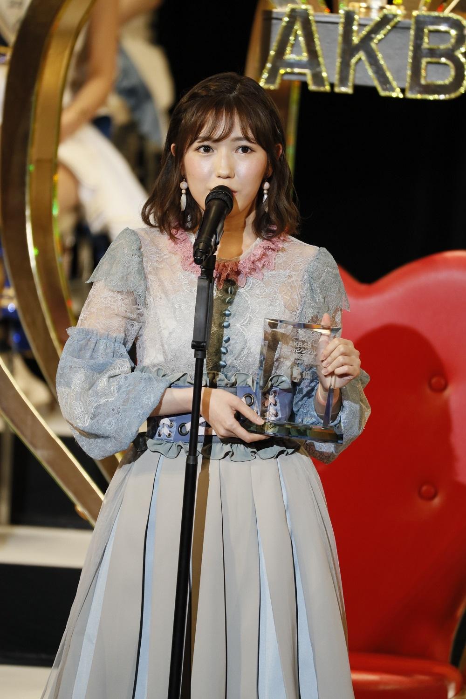 2位の渡辺麻友(AKB48)(C)AKS