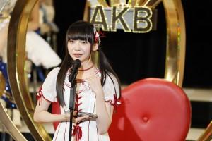 5位の荻野由佳(NGT48)(C)AKS