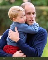 【イタすぎるセレブ達】英王室、ジョージ王子とウィリアム王子のツーショットを父の日に公開 「シャーロットはどこ?」不満の声