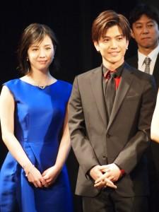 『SWAN SONG』に出演している桜庭ななみと岩田剛典