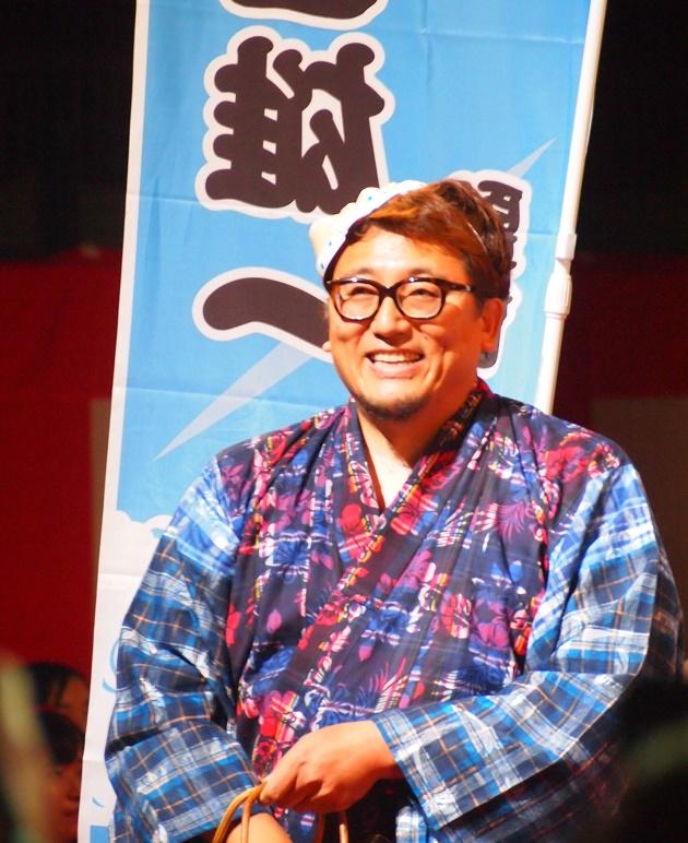 映画『銀魂』ジャパンプレミアに出席した福田雄一監督