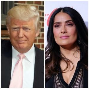 【イタすぎるセレブ達】メキシコ出身の女優サルマ・ハエック「今のアメリカはブラックコメディ」