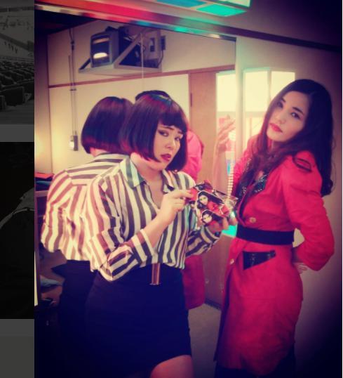 ブルゾンちえみと平野ノラ(画像は『ブルゾンちえみ 2017年6月22日付Instagram』のスクリーンショット)