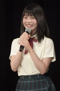 SKE48新シングルで初選抜・初センターの小畑優奈(C)AKS