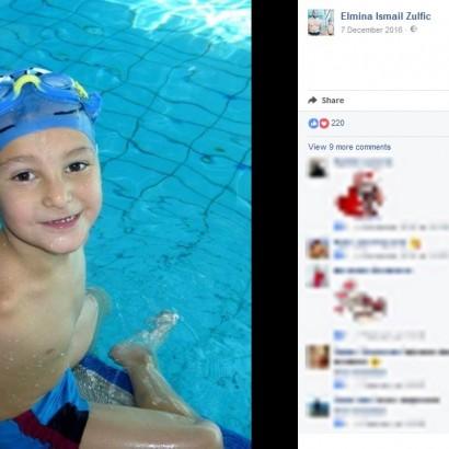 【海外発!Breaking News】生まれつき両腕のない6歳少年、水泳大会でチャンピオンに!(ボスニア)