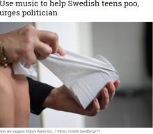 【海外発!Breaking News】「音楽を流して…」と生徒たち 気軽に用を足せるよう校内トイレの改善なるか(スウェーデン)