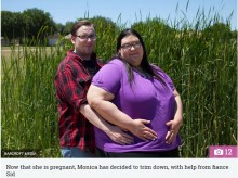 【海外発!Breaking News】世界一の肥満を目指していた女性が妊娠 お腹の赤ちゃんを守るため減量に励む(米)