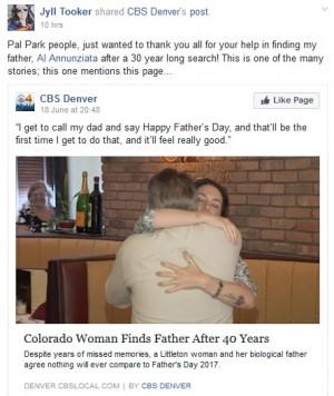 【海外発!Breaking News】Facebookで行方を探し…40年の時を経て娘と父が初対面(米)