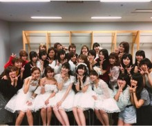 【エンタがビタミン♪】℃-uteとハロプロファミリーの集合写真がなんか変 投稿した福田花音に「天才」の声