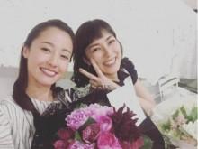 【エンタがビタミン♪】沢尻エリカと板谷由夏が2ショット 『母になる』オールアップに「寂しい」の声