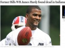【海外発!Breaking News】元NFLスター選手ジェームス・ハーディさん(31)、水死体で発見(米)