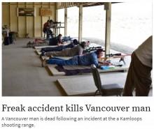 【海外発!Breaking News】名手が集まった射撃競技会で事故 自身の銃を暴発させ男性が死亡(カナダ)
