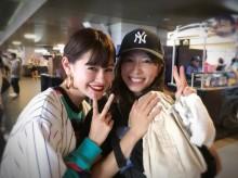 【エンタがビタミン♪】里田まい、モデルemmaとの2ショットで「少し後ろに下がりました」