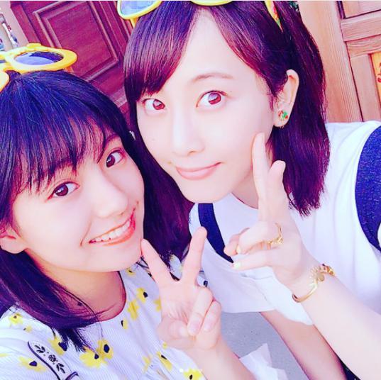 """松井玲奈がSKE48の""""可愛い子達""""とディズニーシーを満喫 「お姉さんしてるね」の声"""