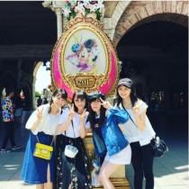 """【エンタがビタミン♪】松井玲奈がSKE48の""""可愛い子達""""とディズニーシーを満喫 「お姉さんしてるね」の声"""