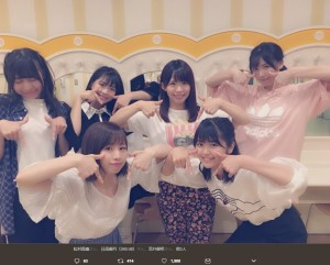 """【エンタがビタミン♪】SKE48松村香織 流行の""""TTポーズ""""を自分アピールと勘違い"""