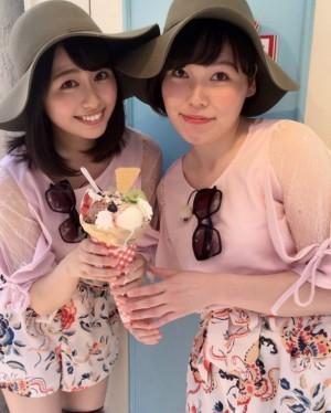 【エンタがビタミン♪】尼神インター・誠子、ももクロ・あーりんと双子コーデ 「さっしーかと思った」の声