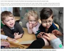 【海外発!Breaking News】左右のバランスが崩れる頭部 世界にたった200名の「CLOVES症候群」と闘う3歳児(米)