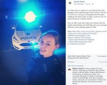 【海外発!Breaking News】警察官募集告知に美しすぎる女性警官「僕を刑務所へ連れてって!」不適切なコメント殺到に警察署が自粛求める(英)