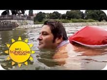 【海外発!Breaking News】交通渋滞を避けるため、毎朝2km川を泳いで通勤する男性(独)