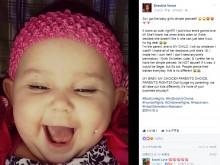 【海外発!Breaking News】幼い娘の頬にピアス! 批判続出も投稿した母親の真意とは…(米)