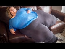 【海外発!Breaking News】241.3cmのヒップを持つ女性が「世界一大きなお尻になりたい」(米)