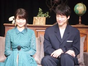 「レイトン」最新作に出演した有村架純、坂口健太郎