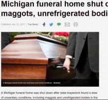 【海外発!Breaking News】格安の悪質葬儀屋 車庫に10遺体放置で近隣に死臭漂う(米)