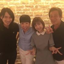 【エンタがビタミン♪】和田アキ子 神田正輝、村田充&神田沙也加夫妻に会いご機嫌に