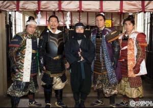 渡辺いっけい、大杉漣、バカリズム、杉本哲太、中尾明慶(画像は『バカリズム 2017年7月18日付Instagram「ドラマ2本書きました。「僕の金ヶ崎」と「私たちの薩長同盟」」』のスクリーンショット)