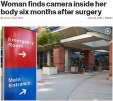 【海外発!Breaking News】患者の体内に内視鏡カメラを置き忘れ、半年間放置(米)