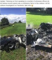 【海外発!Breaking News】2900万円のフェラーリ 初乗り1時間後に炎上(英)