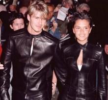 【イタすぎるセレブ達】ベッカム夫妻 若き日のペアルック写真を公開「猛烈に恥ずかしい」