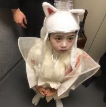 【エンタがビタミン♪】市川海老蔵、長男・勸玄くんの白狐姿を披露 「麻央ちゃんにそっくり」