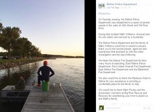 【海外発!Breaking News】溺れた息子を救うため命を落とした父 事故直前の父子の写真に涙(米)