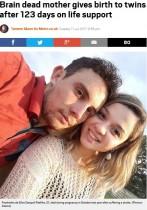 【海外発!Breaking News】脳死した妊婦、123日後に元気な双子の赤ちゃんを出産(ブラジル)