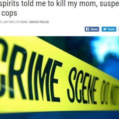 【海外発!Breaking News】真夜中の警察署にやってきた男 母親殺害を自供「悪霊が命じた」(南ア)