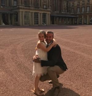 【イタすぎるセレブ達】デヴィッド・ベッカム、末っ子の誕生日をバッキンガム宮殿でお祝い? 真相明かす