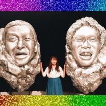 【エンタがビタミン♪】ダウンタウンの2人が岩の彫刻に? 入山杏奈の記念写真がすごい迫力