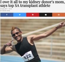 【海外発!Breaking News】被弾した17歳の腎臓に救われた陸上選手 記録更新続ける(南ア)