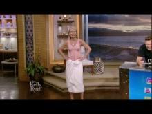【イタすぎるセレブ達】米・人気司会者 朝のトーク番組で「毛深いおじさん水着」を披露