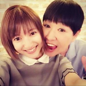 「嬉しかったです」と神田沙也加(画像は『sayakakanda 2017年7月13日付Instagram「父と食事に行ったお店で、和田アキ子さんとお逢いしました!」』のスクリーンショット)